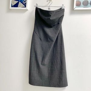 Club Monaco Strapless Dress